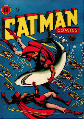 Cat-Man Comics #32. Click for current values.