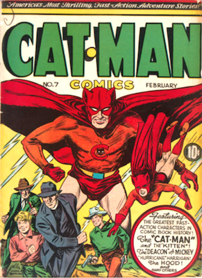 Cat-Man Comics #7. Click for current values.