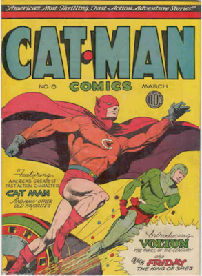 Cat-Man Comics #8. Click for current values.