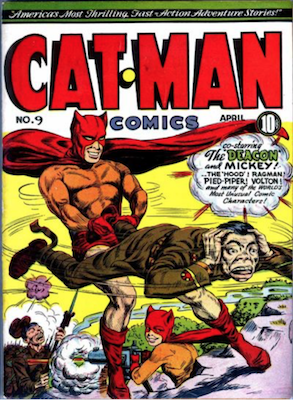 Cat-Man Comics #9. Click for current values.
