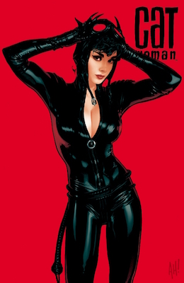 Catwoman #70: classic Adam Hughes cover. Click for values