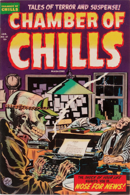 Chamber of Chills #21. Click for current values.