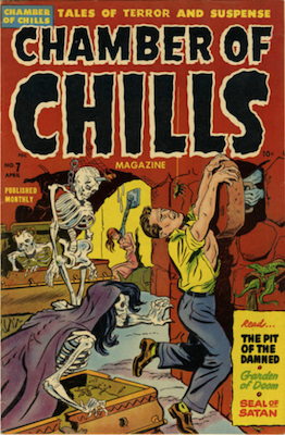 Chamber of Chills #7. Click for current values.