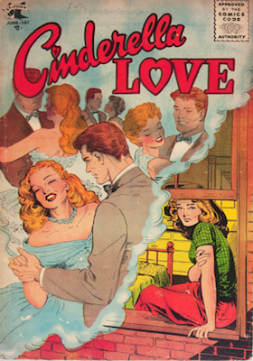 Cinderella Love #28, rare Matt Baker cover. Click for values