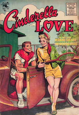 Cinderella Love #29: Matt Baker cover. Click for values
