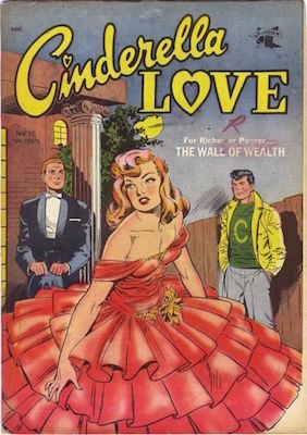 Cinderella Love #15: Matt Baker cover art. Click for values