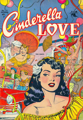 Cinderella Love #25: classic Matt Baker comic book. Click for values