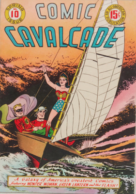 Comic Cavalcade #10. Click for current values.
