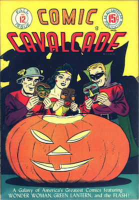 Comic Cavalcade #12. Click for current values.