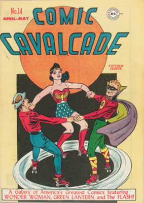 Comic Cavalcade #14. Click for current values.