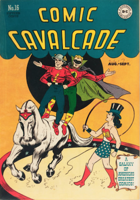 Comic Cavalcade #16. Click for current values.