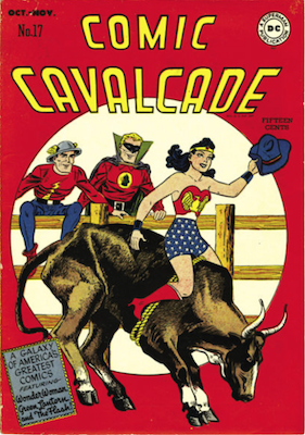 Comic Cavalcade #17. Click for current values.
