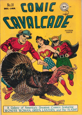 Comic Cavalcade #18. Click for current values.