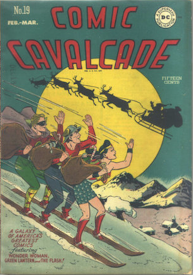 Comic Cavalcade #19. Click for current values.
