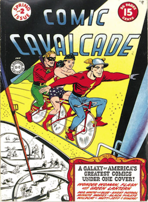 Comic Cavalcade #2. Click for current values.