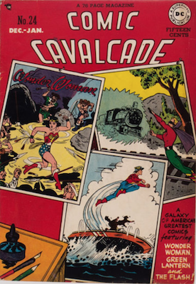 Comic Cavalcade #24: Solomon Grundy appearance, crossover with Green Lantern series. Click for current values