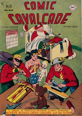 Comic Cavalcade #25. Click for current values.