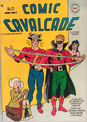 Comic Cavalcade #27. Click for current values.