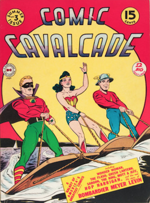 Comic Cavalcade #3. Click for current values.