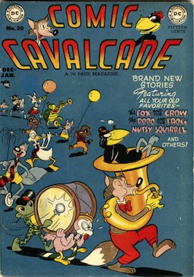 Comic Cavalcade #30. Click for current values.
