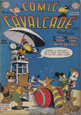 Comic Cavalcade #34. Click for current values.