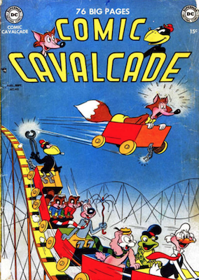 Comic Cavalcade #40. Click for current values.