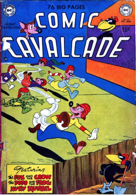 Comic Cavalcade #42. Click for current values.