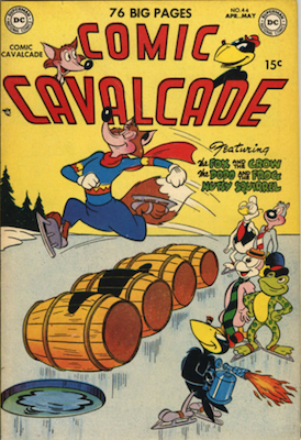 Comic Cavalcade #44. Click for current values.