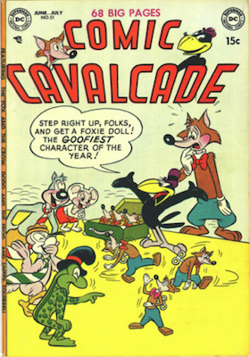 Comic Cavalcade #51. Click for current values.