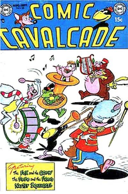 Comic Cavalcade #58. Click for current values.