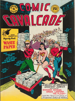 Comic Cavalcade #6. Click for current values.