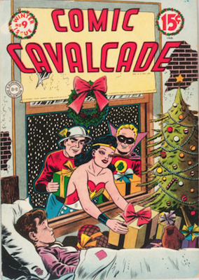 Comic Cavalcade #9. Click for current values.