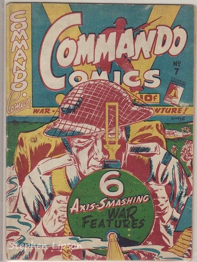 Commando Comics #7