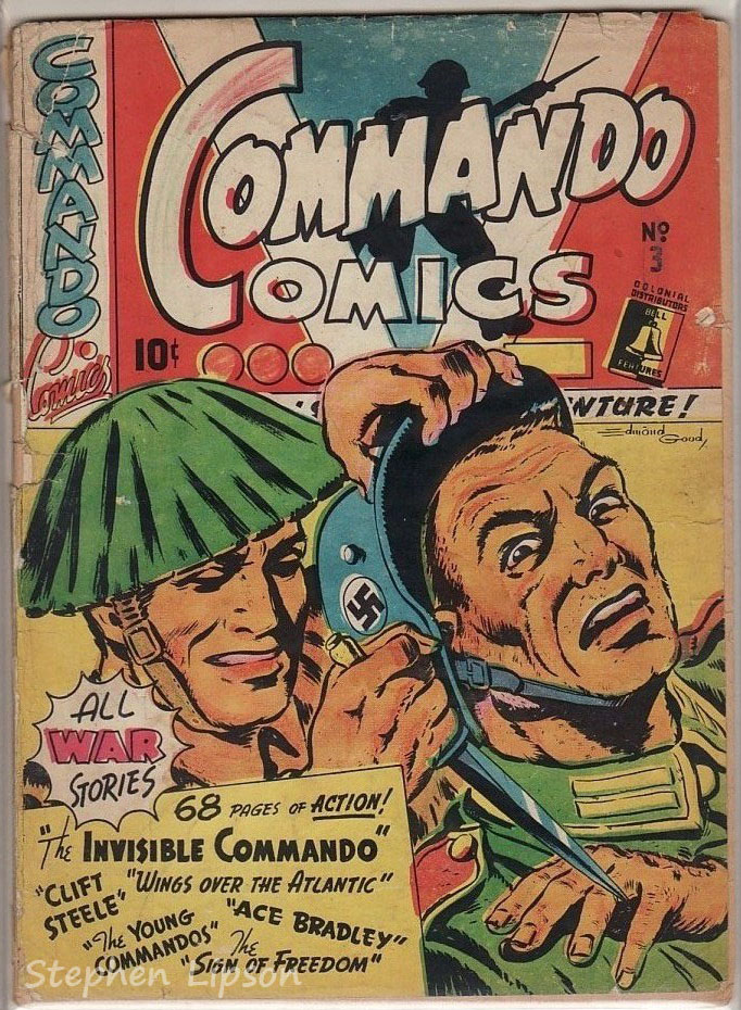 Canadian Whites: Bell Features Commando Comics #3