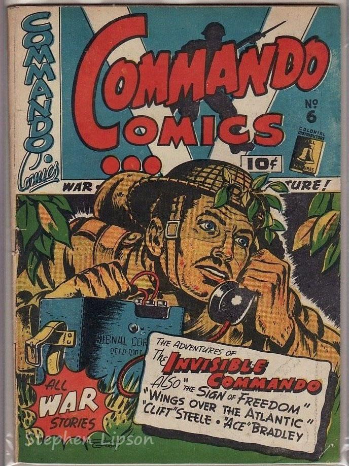 Commando Comics #6