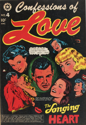 Confessions of Love #4: L. B. Cole cover. Click for values