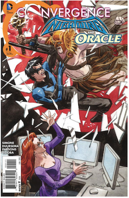 Convergence Nightwing/Oracle #1 (2015). Click for values.