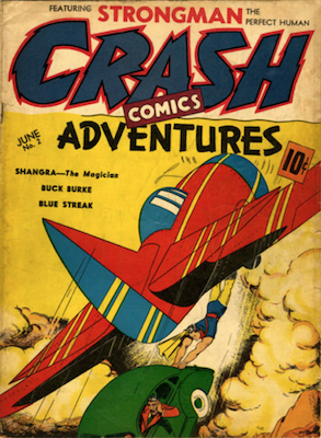 Crash Comics #2. Click for current values.