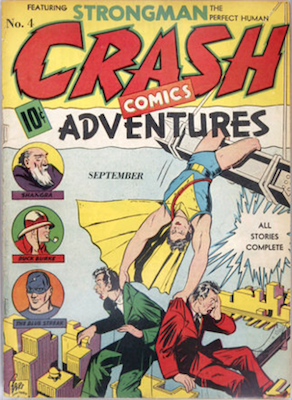 Crash Comics #4: Origin and First Appearance of Cat-Man. Click for current values.