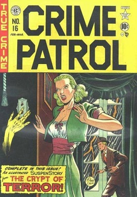 Crime Patrol #16 (1950): Last in series before renamed
