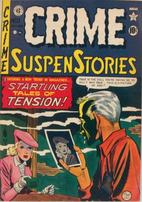 Crime SuspenStories #1. Click for current values.