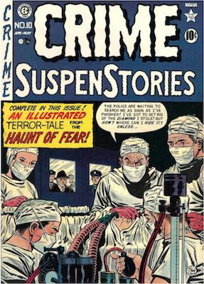 Crime SuspenStories #10. Click for current values.