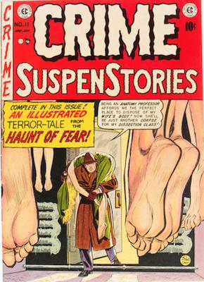 Crime SuspenStories #11. Click for current values.