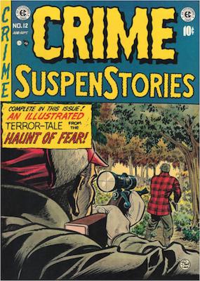 Crime SuspenStories #12. Click for current values.