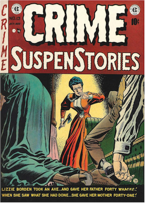 Crime SuspenStories #13. Click for current values.
