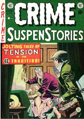 Crime SuspenStories #14. Click for current values.