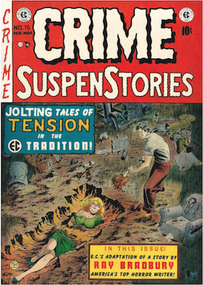 Crime SuspenStories #15. Click for current values.