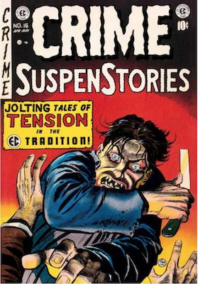 Crime SuspenStories #16. Click for current values.