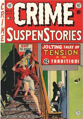 Crime SuspenStories #18. Click for current values.