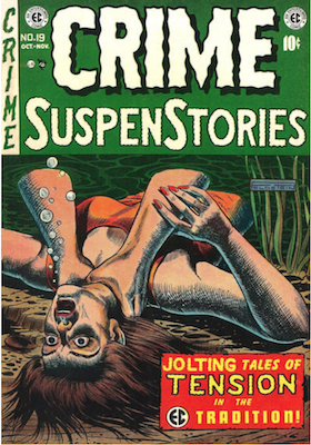 Crime SuspenStories #19. Click for current values.